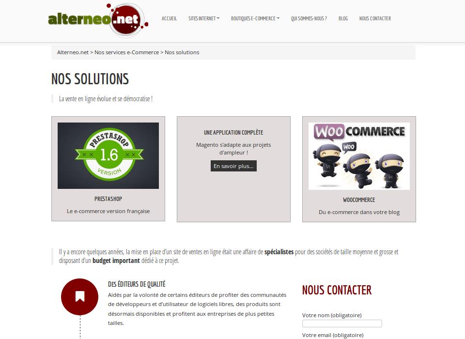 Alterneo.net - Page