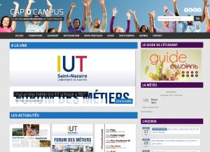 Cap'O'Campus page Accueil