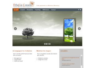 Etholia Conseil page d'accueil
