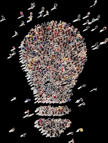 Illustration bonnes idées collectives